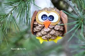 pinecone owl ornament repeat crafter me