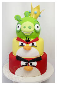 bolo angry birds pasteles pinterest angry birds angry birds