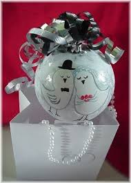 personalized wedding ornament for and groom gift 24 00