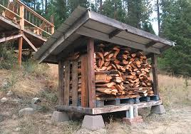 Diy Firewood Storage Shed Plans by Diy Firewood Storage Shed U0026 Plans Pure Living For Life