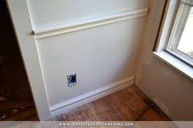 chair rail wainscoting install baseboard and chair rail how to picture frame moulding wainscoting
