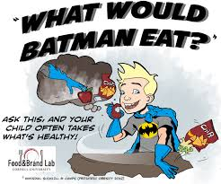 batman eat food brand lab