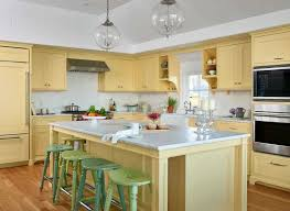 light yellow kitchen with white cabinets 50 yellow kitchen ideas photos home stratosphere