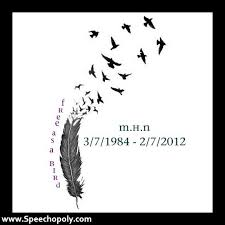 images feather tattoos with quotes