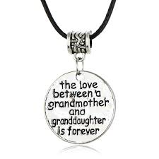 grandmother and granddaughter necklaces aliexpress buy leather chain necklace women