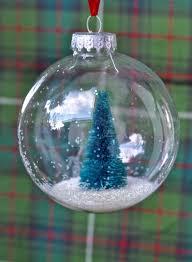 snow globe ornaments diy tutorial darice