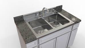 Kitchen Sink STLSTEP  IGES D CAD Model GrabCAD - Kitchen sink models