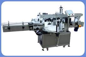 labeling machine two sides labeling applicator square bottle