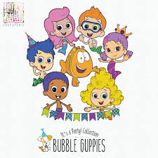 bubble guppies it u0027s a party collection 300 ppi