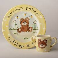 painted platters personalized personalized kids ceramic plates
