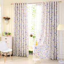 Light Grey Sheer Curtains Printing Home Eco Friendly Butterfly Window Curtains