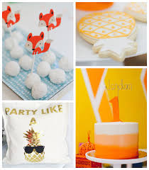 kara u0027s party ideas fox pineapple themed birthday party