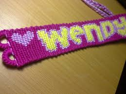 bracelet friendship name images Name friendship bracelet custom macrame style no 1 kaliste jpg
