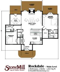 rockdale log floor plan stonemill log u0026 timber homes
