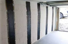 Bowing Basement Wall by Bowed Wall Repair Basement U0026 Foundation Repair Rochester