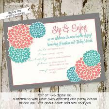 free printable bridal shower invitation templates best shower