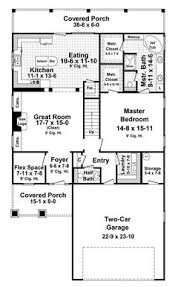 2300 Sq Ft House Plans House Plan 59168 Country Craftsman Narrow Lot Plan With 2300 Sq