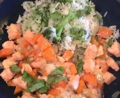 recette de cuisine au wok wok de saumon recette de wok de saumon marmiton
