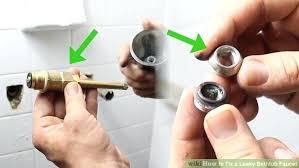 repair bathtub faucet tub faucet repairs fixing three handle tub shower faucets bathtub