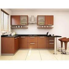 wooden kitchen design l shape l shaped wooden modular kitchen