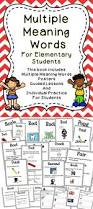 Context Clues Worksheet 5th Grade Best 20 Multiple Meaning Words Ideas On Pinterest Meaning Of