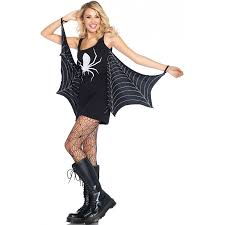 Spider Halloween Costume Spiderweb Jersey Tunic Dress Halloween Dress
