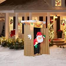 Hard Plastic Christmas Decorations Outdoors Best 25 Christmas Inflatables Ideas On Pinterest Blow Up