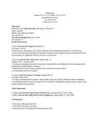 Sample Resume Youth Director by Camp Counsellor Resume Free Resume Example And Writing Download