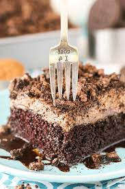 oreo chocolate poke cake life love and sugar
