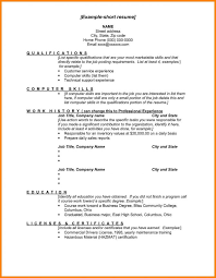 sle resume exles exles of skills for resumes summer resume list sle