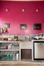 küche pink pinke wand in der küche wohnideen in rosa living in pink
