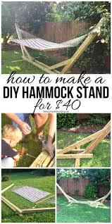 40 diy hammock stand that you can make this weekend diy hammock