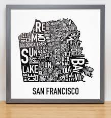 San Francisco Neighborhood Map by San Francisco Neighborhood Map 12 5