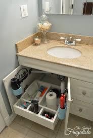 bathroom sink organizer ideas decorating 14 under sink storage ideas delightful vanity