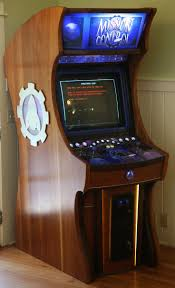 Arcade Room Ideas by Arcade Cabinet Edge Trim Desk And Cabinet Decoration