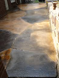 Snap Together Slate Patio Tiles by How To Install Stone Or Brick Over An Existing Concrete Pad
