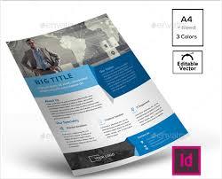 modern flyer templates brochure template in modern style vector