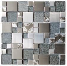 Modern Kitchen Tiles Fancy Modern Kitchen Wall Tiles Texture Metal Metalic Tile Designs