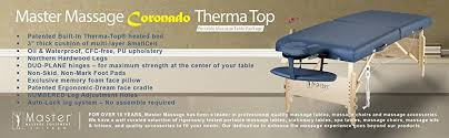 best heated massage table amazon com master massage 30 coronado therma top lx portable