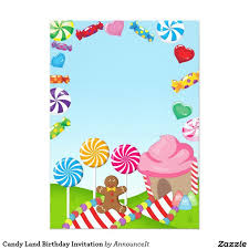 the 25 best candy land invitations ideas on pinterest candy