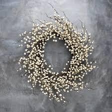 white berry wreath magnolia market chip joanna gaines