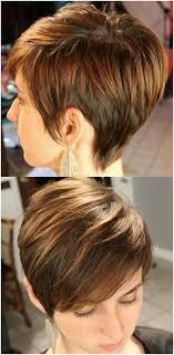 back views of short hairstyles short layered haircuts front and back view