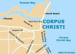 map of corpus christi corpus christi maps and orientation corpus christi tx usa