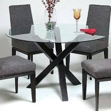glass top dining table set 6 chairs round glass dining table set round glass dining table and chairs