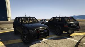 drake range rover range rover sport fbi unmarked police template unlocked gta5