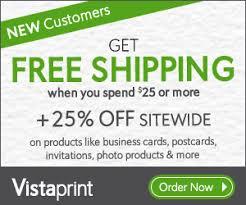 Vistaprint 10 Business Cards Vistaprint Coupon U0026 Vista Print Discount Promo For 2015
