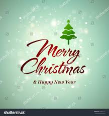 vector christmas new year greeting card stock vector 349547771