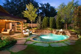 Country Backyard Landscaping Ideas by Triyae Com U003d Backyard With Pool Ideas Various Design Inspiration