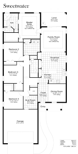 2 Car Garage Floor Plans Watermark Floor Plans Genice Sloan U0026 Associates