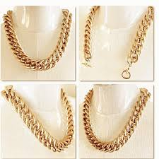 vintage jewelry choker necklace images Buy vintage gold tone link choker necklace at jewelry bubble for JPG